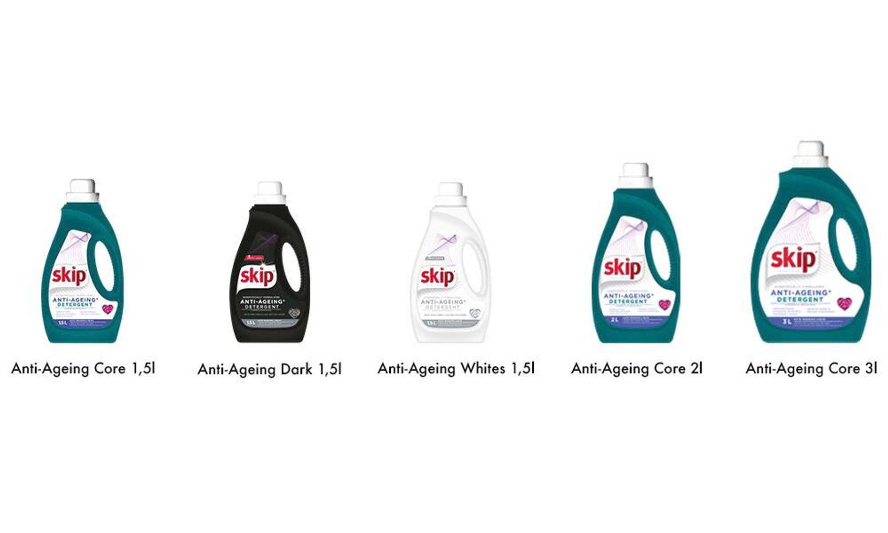 Skip 3 x Anti-Aging 1,5l Bottles