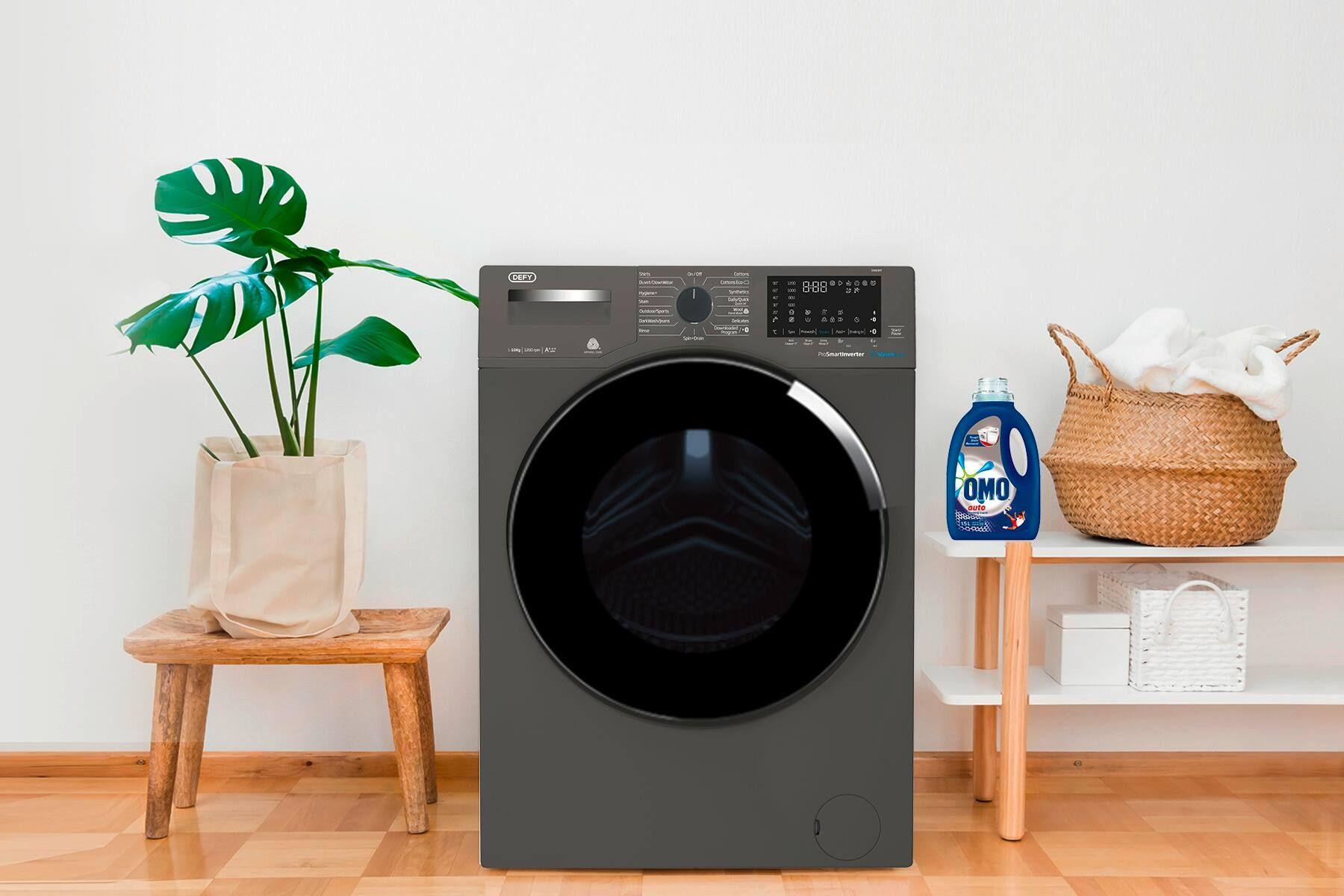 Defy Washing Machine and OMO Liquid