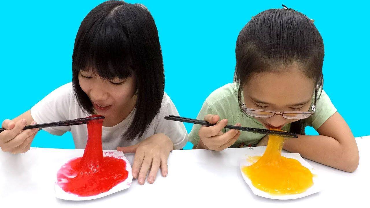 Cách làm slime ăn được từ kẹo