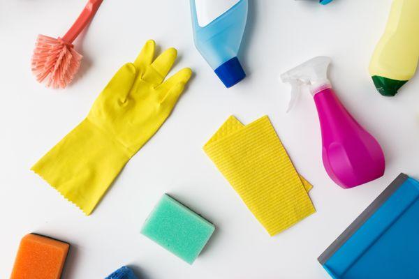 Diferentes tipos y usos de los productos de limpieza