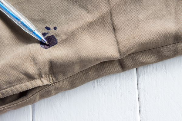 How to remove Ink stains from white uniform