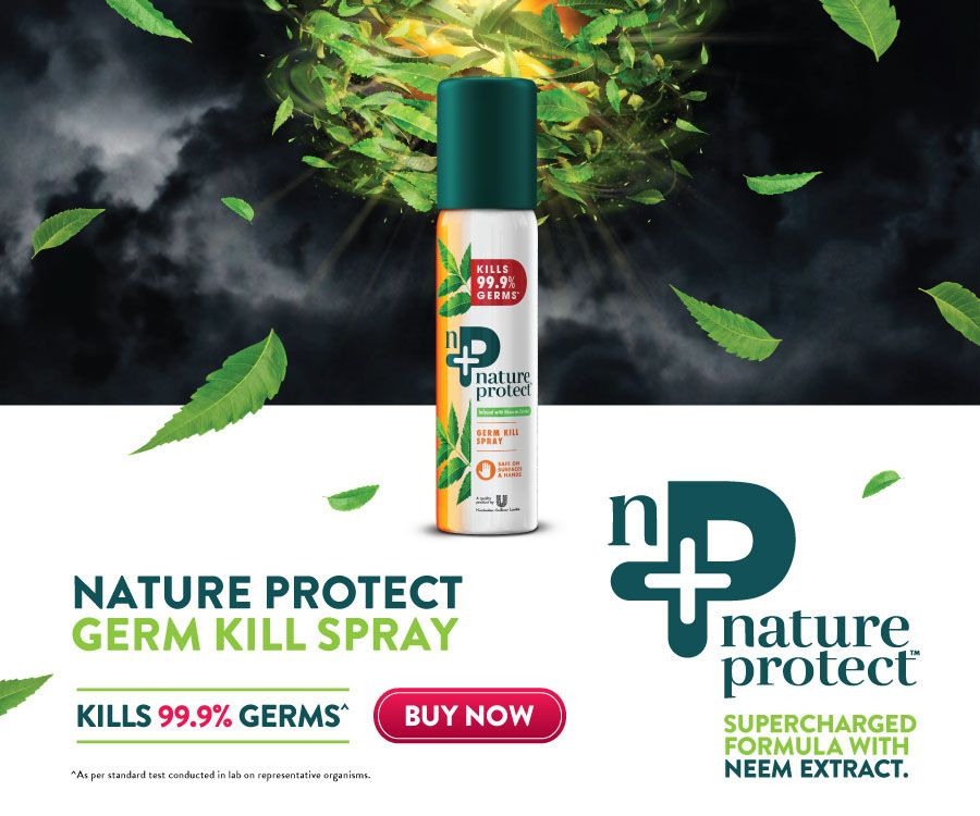 Nature Protect Germ Kill Spray