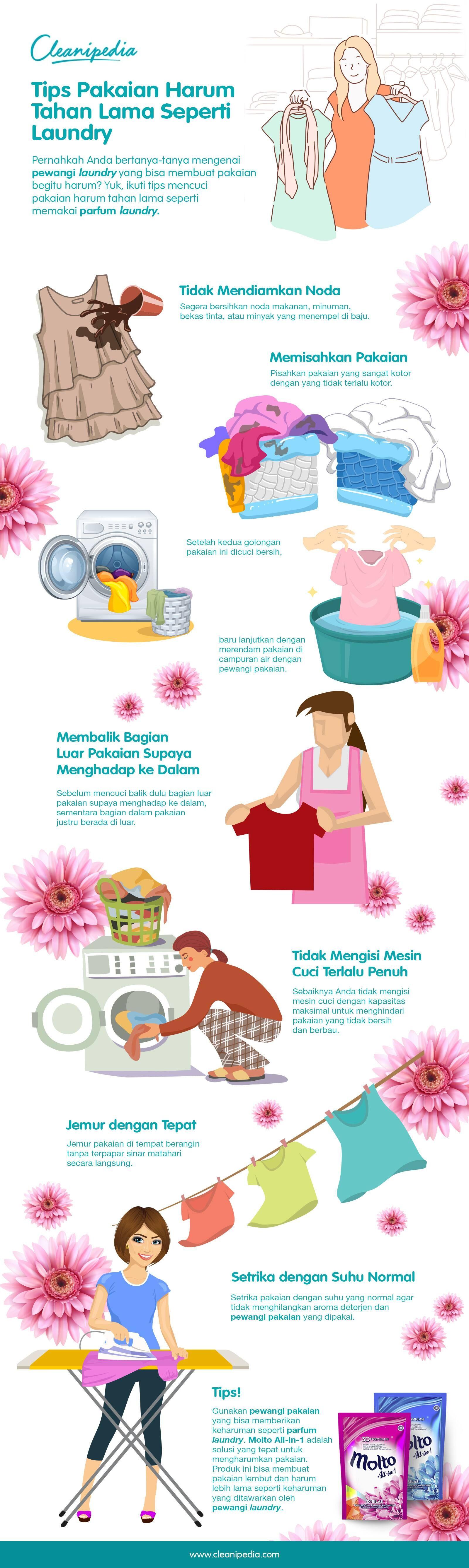 Tips Pakaian Harum Tahan Lama Seperti Laundry