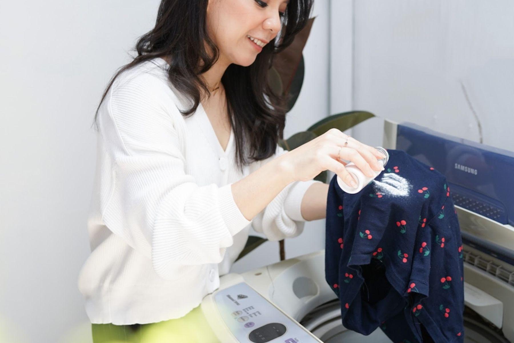 cara untuk menghilangkan noda di baju