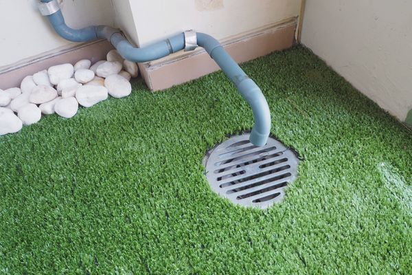 Cleaning clogged drainage