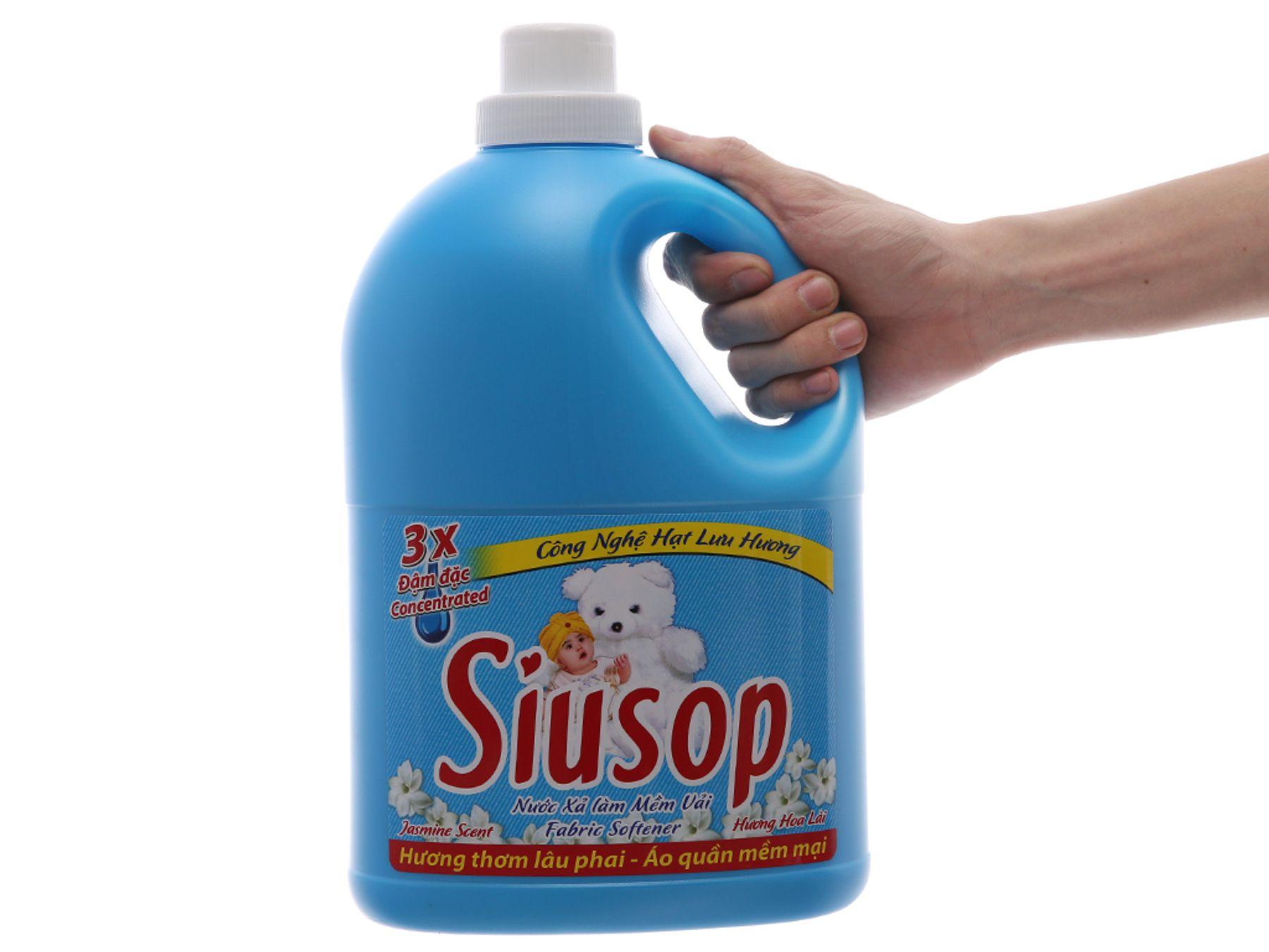 Nước xả vải Siusop có thơm không?