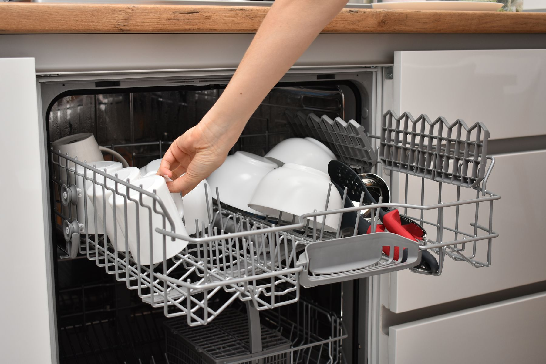 Simple Steps to Wash Dishes in Your Dishwasher Efficiently shutterstock 1716492085