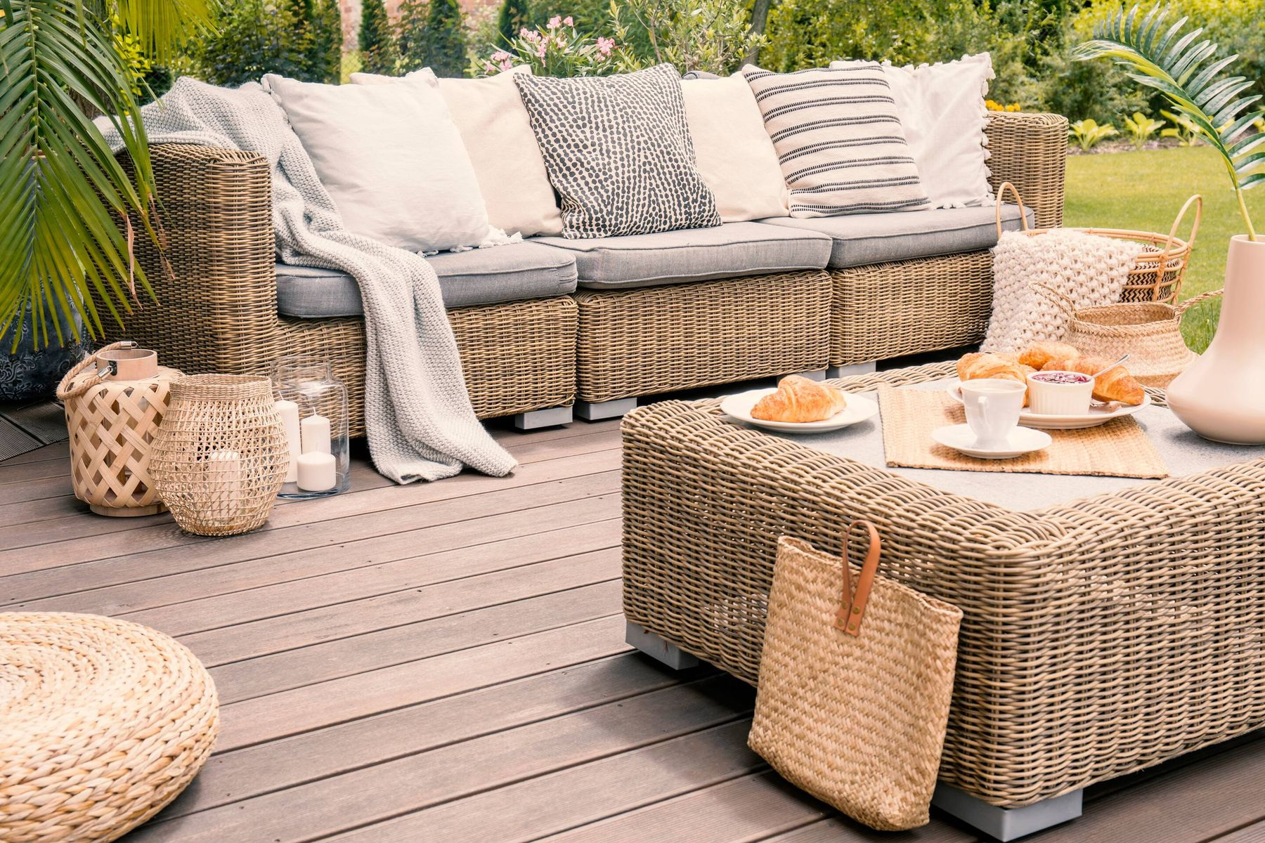 Clean Wicker Furniture