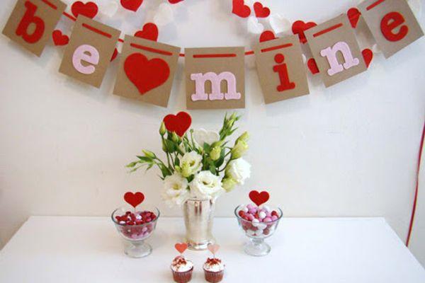 Ý tưởng trang trí valentine cho mọi không gian