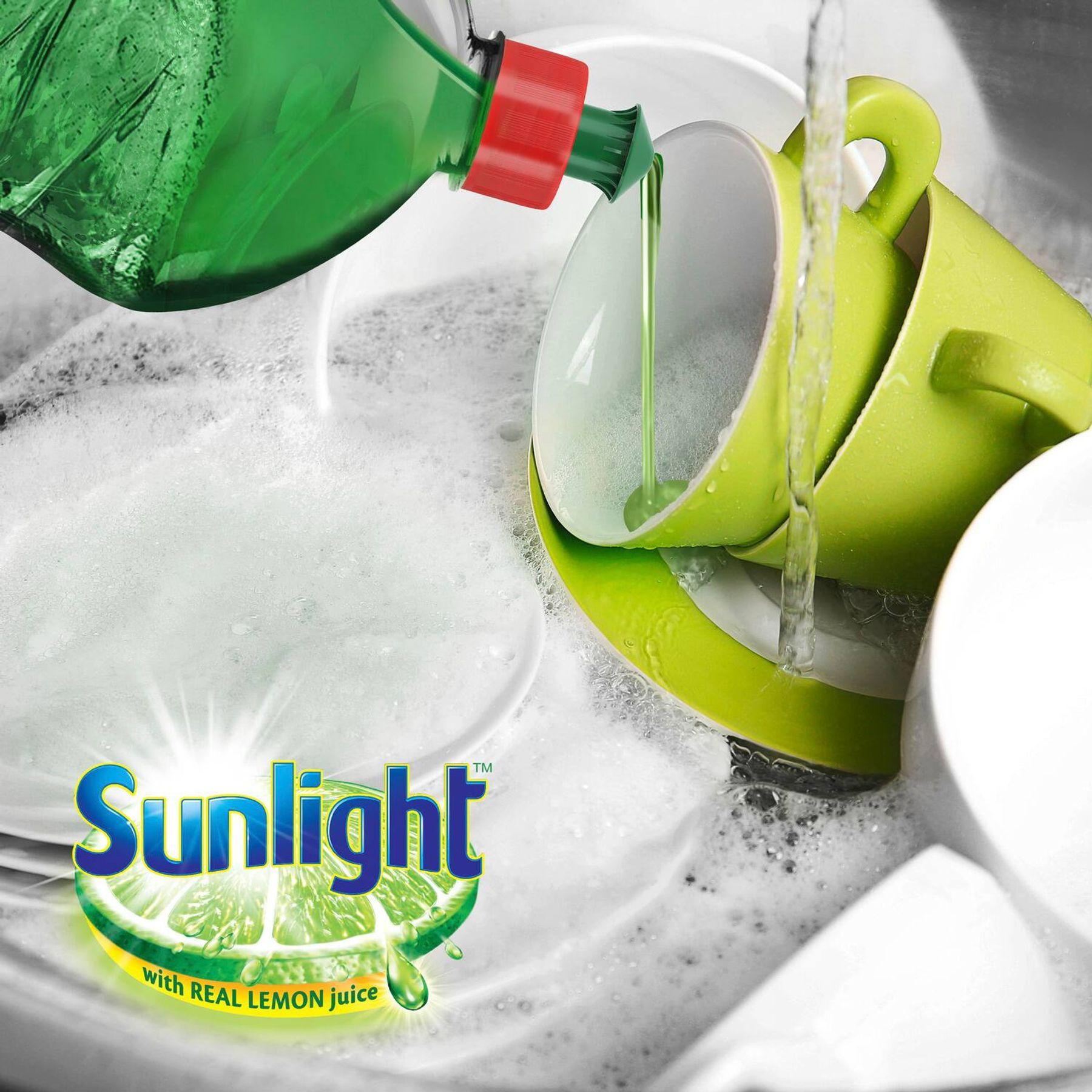Nước rửa chén bát Sunlight diệt khuẩn 99.9%