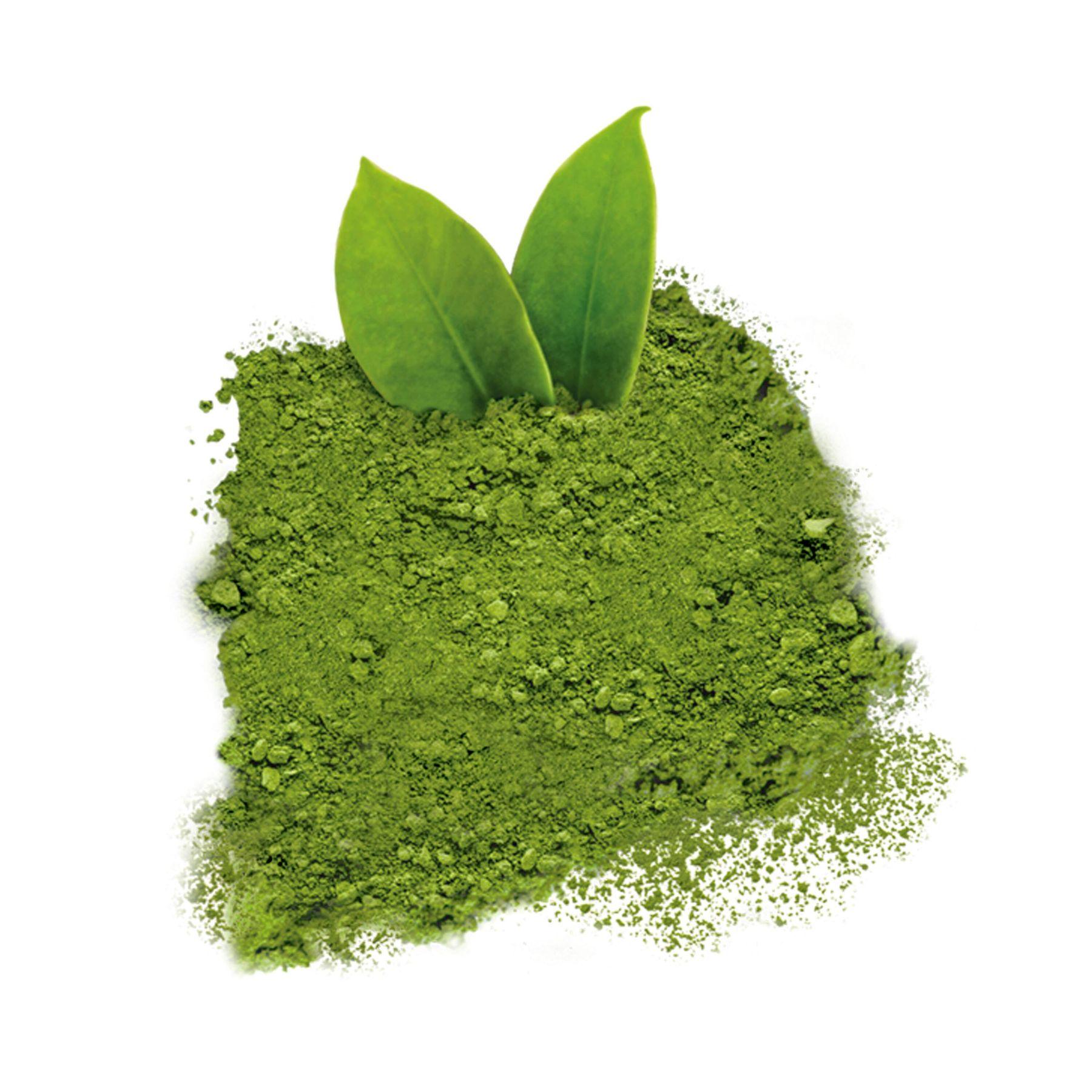 Đặt bột trà xanh khử mùi nhà vệ sinh