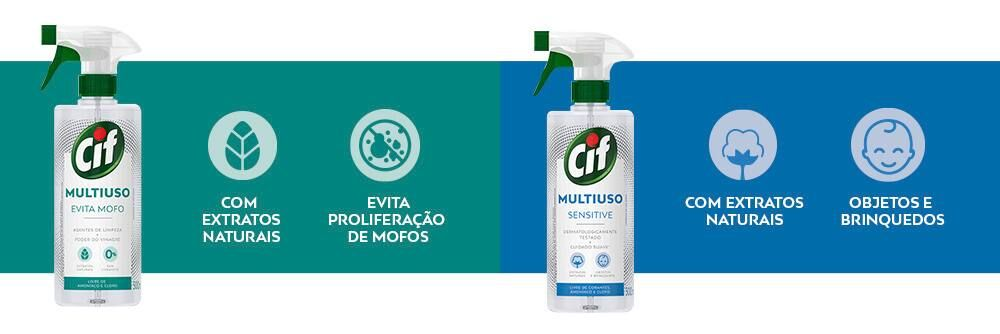 CIF Multiuso Evita Mofo e Sensitive
