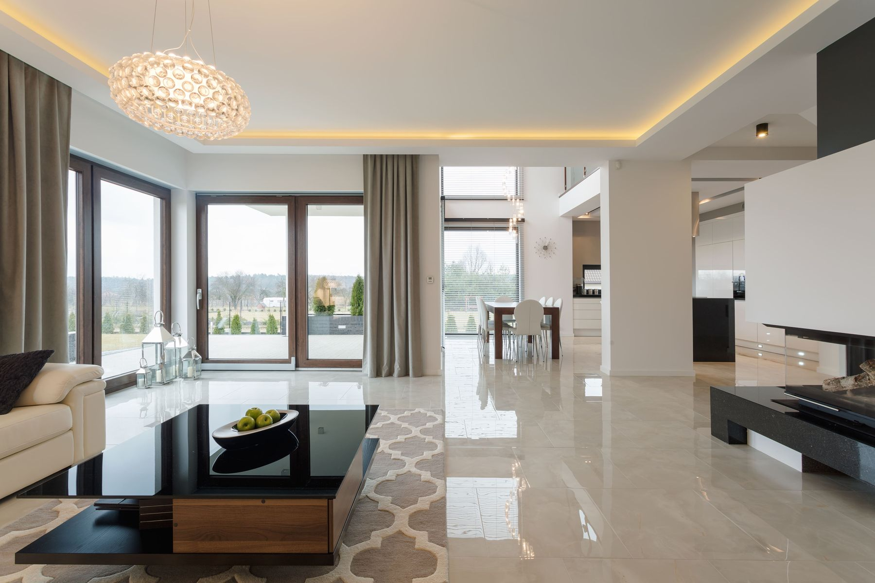does your brand-new house have worn-out marble flooring?