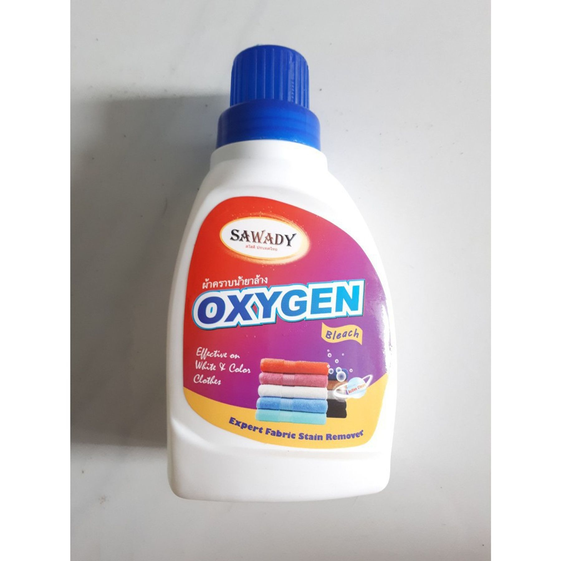 Nước tẩy quần áo màu oxygen