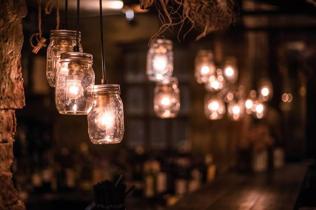 làm đèn trung thu bằng chai, lon