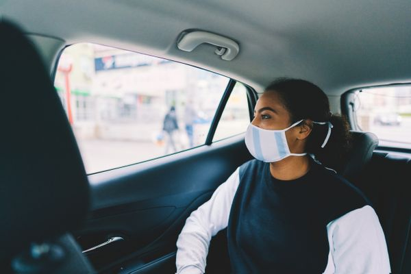 Travel safe in cab during pandemic