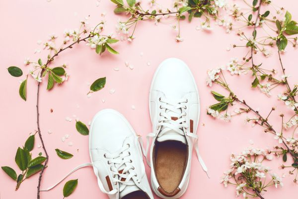 How to Clean Your White Shoes Covered with Stains shutterstock 1084787480