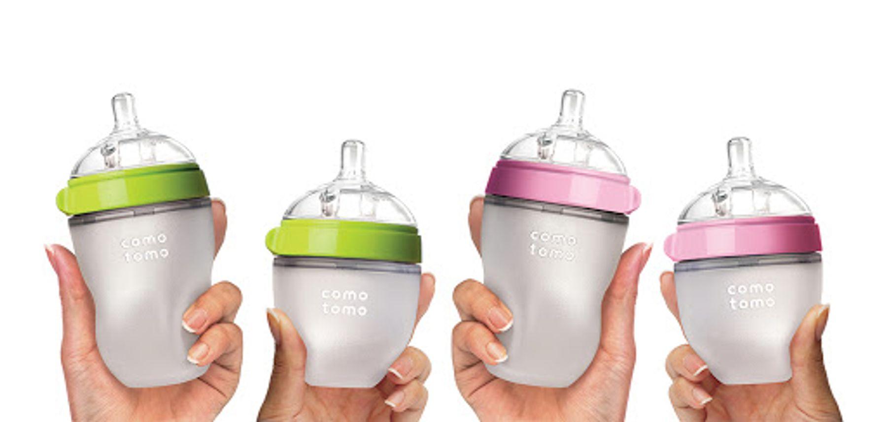 Bình sữa comotomo cho trẻ sơ sinh hình tròn
