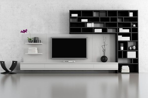 On a stand or on the wall? 10 TV room ideas