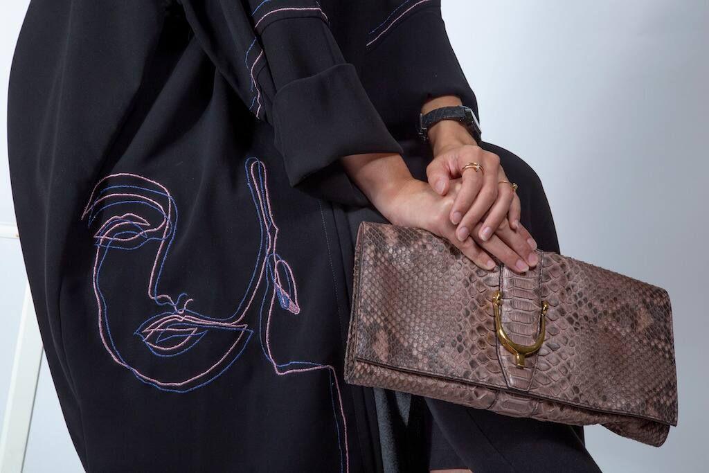 woman wearing abaya