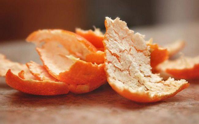 Khử mùi sơn nhà mới bằng vỏ cam, quýt và bưởi
