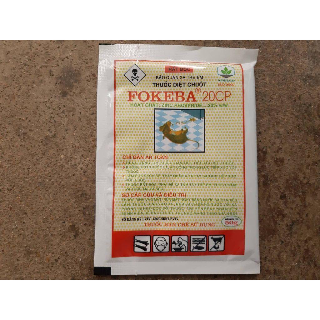 Thuốc diệt chuột FOKEBA