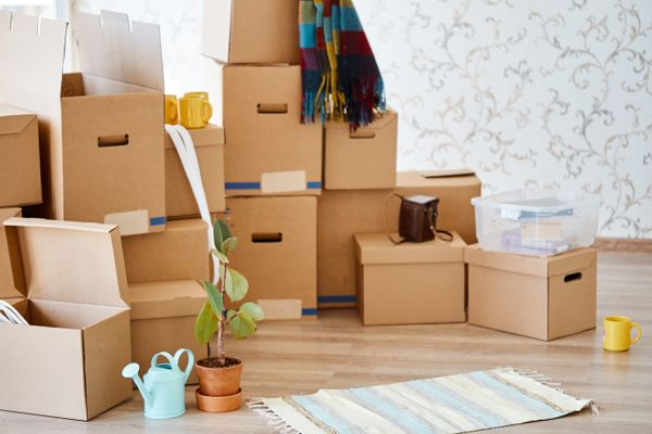 How to Remove Cardboard Box Stains from Your Storage Space shutterstock 1201409593