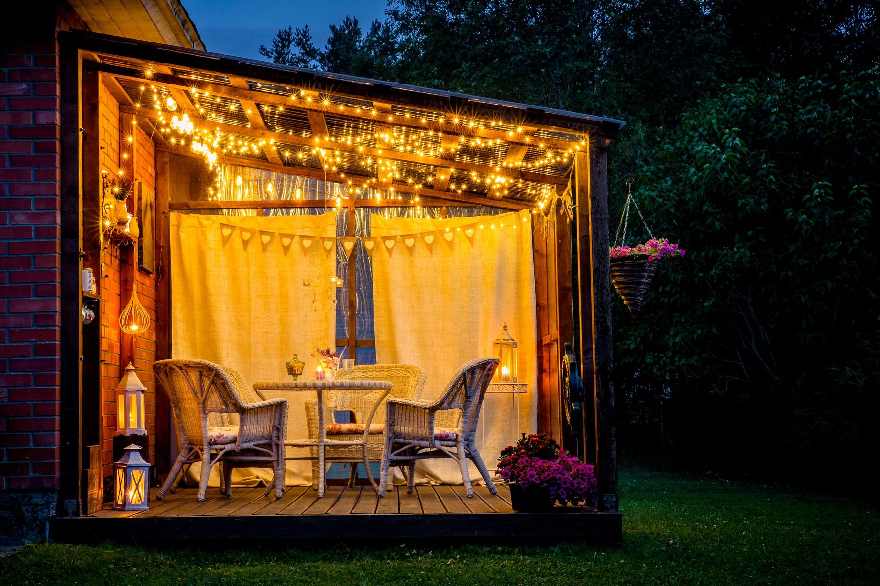 How to Get Your Back Yard Ready for Your Christmas Party