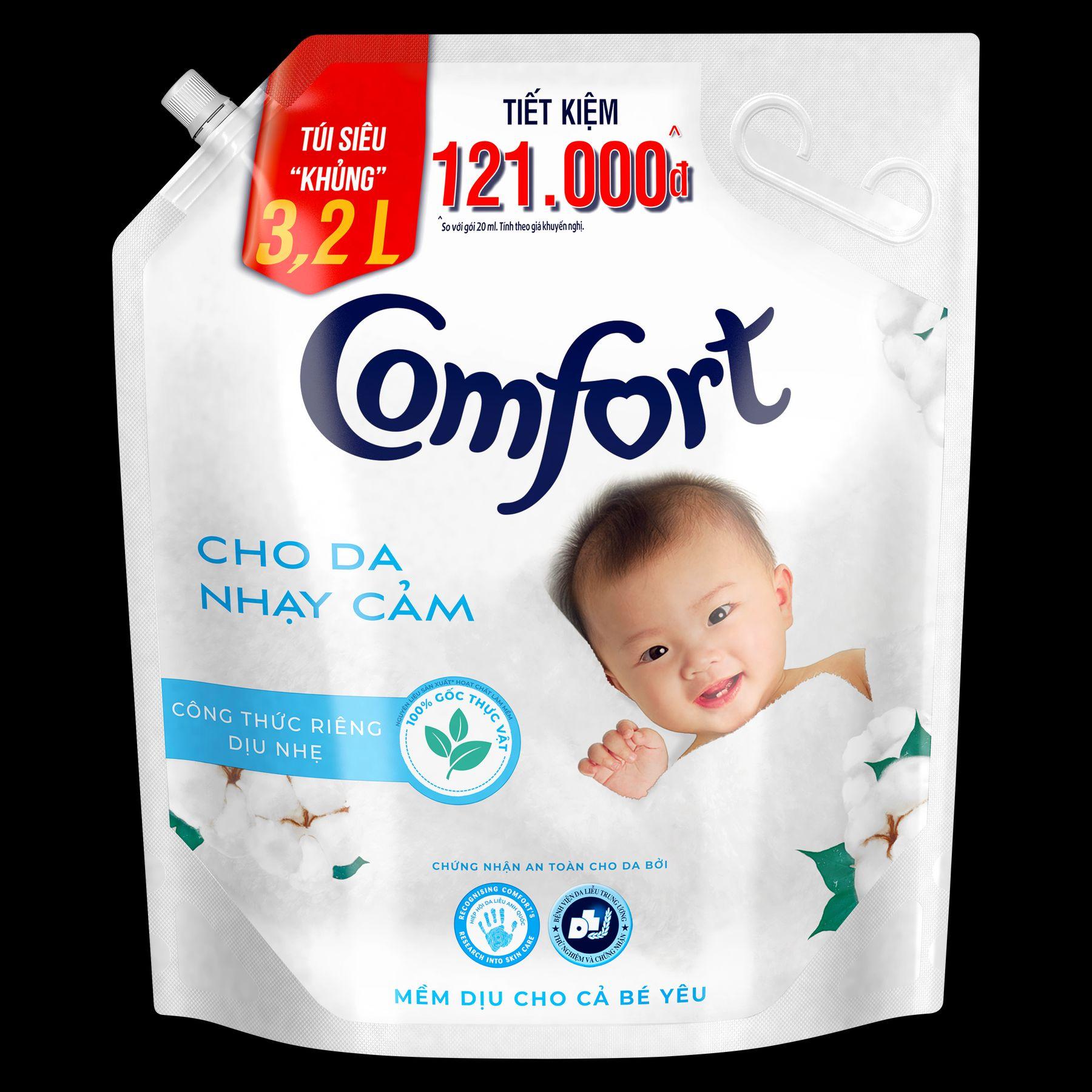 comfort cho da nhạy cảm