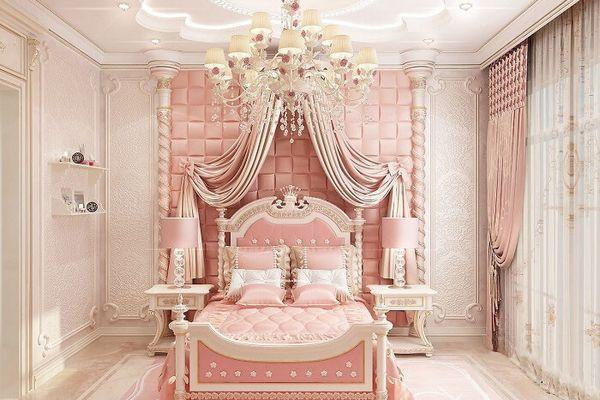 Trang trí phòng ngủ cho bé gái