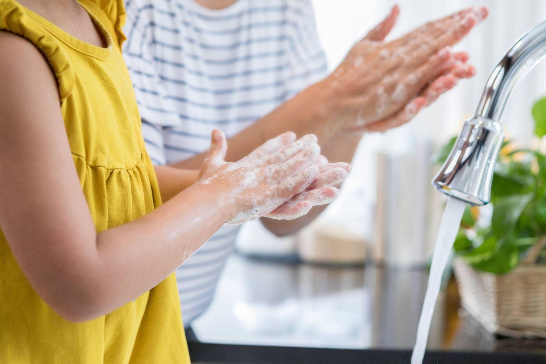 çocuk el yıkama