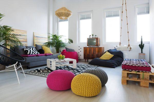 आरामदायक बीन बैग को घर बैठे कैसे करें साफ़ | क्लीएनीपीडिया