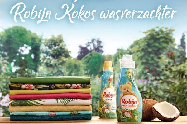 Robijn Kokos wasverzachter