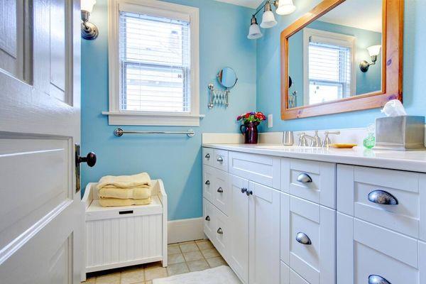 Küçük Banyo Dekorasyonu için Fikirler