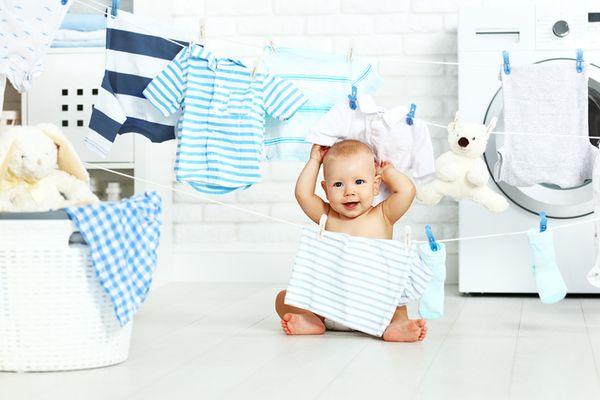 Chăm sóc quần áo của trẻ