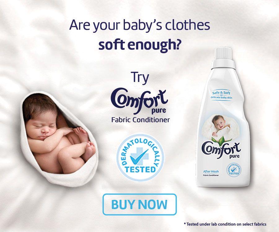 Comfort Pure advert MPU