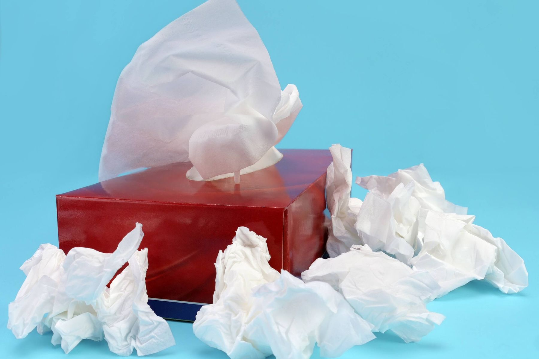 box of tissues for allergies