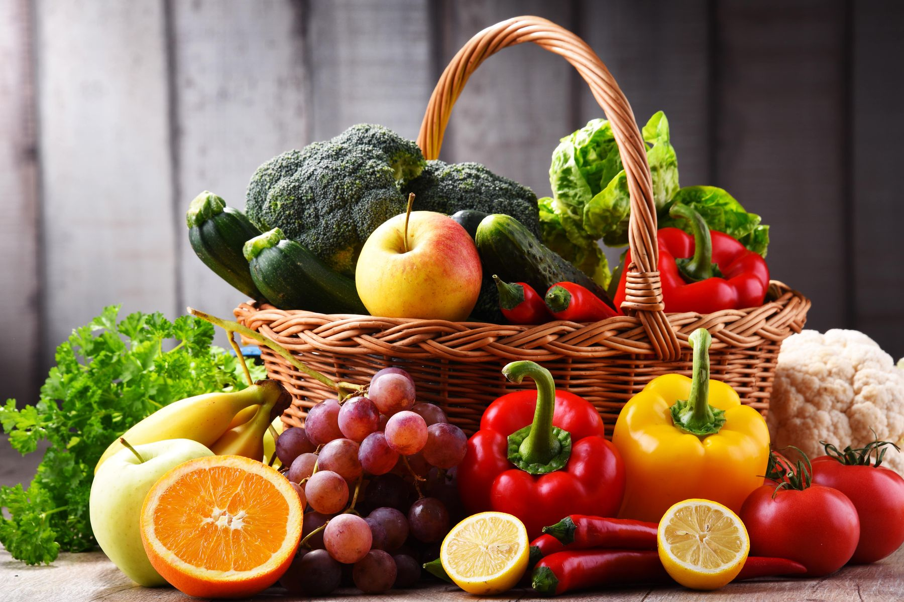 Germ free fruits and Vegetables