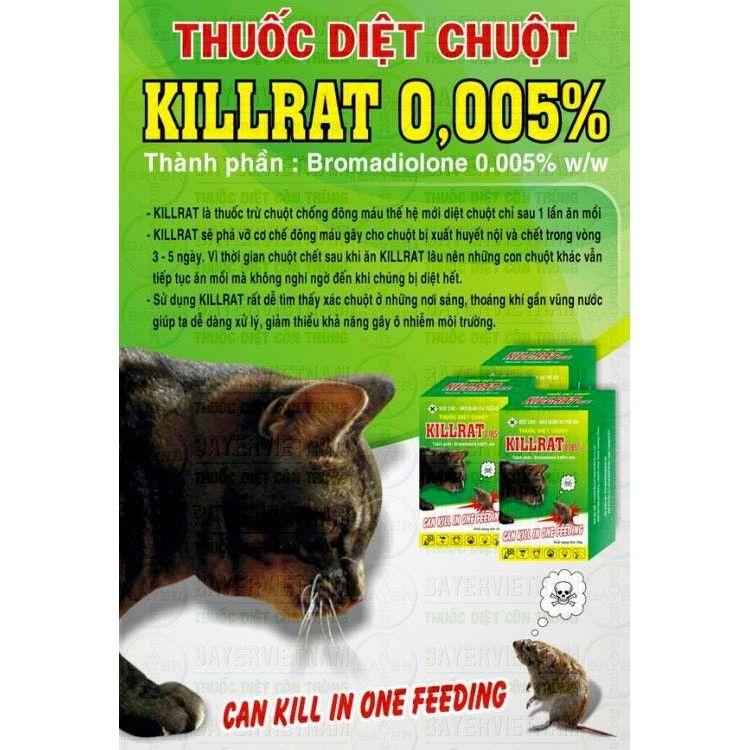 Thuốc diệt chuột Killrate