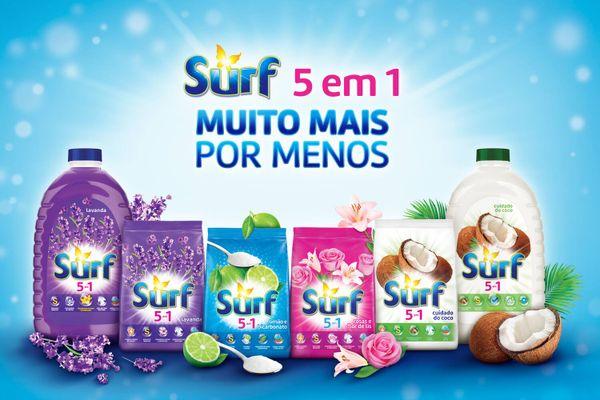 Surf lava roupas 5 em 1