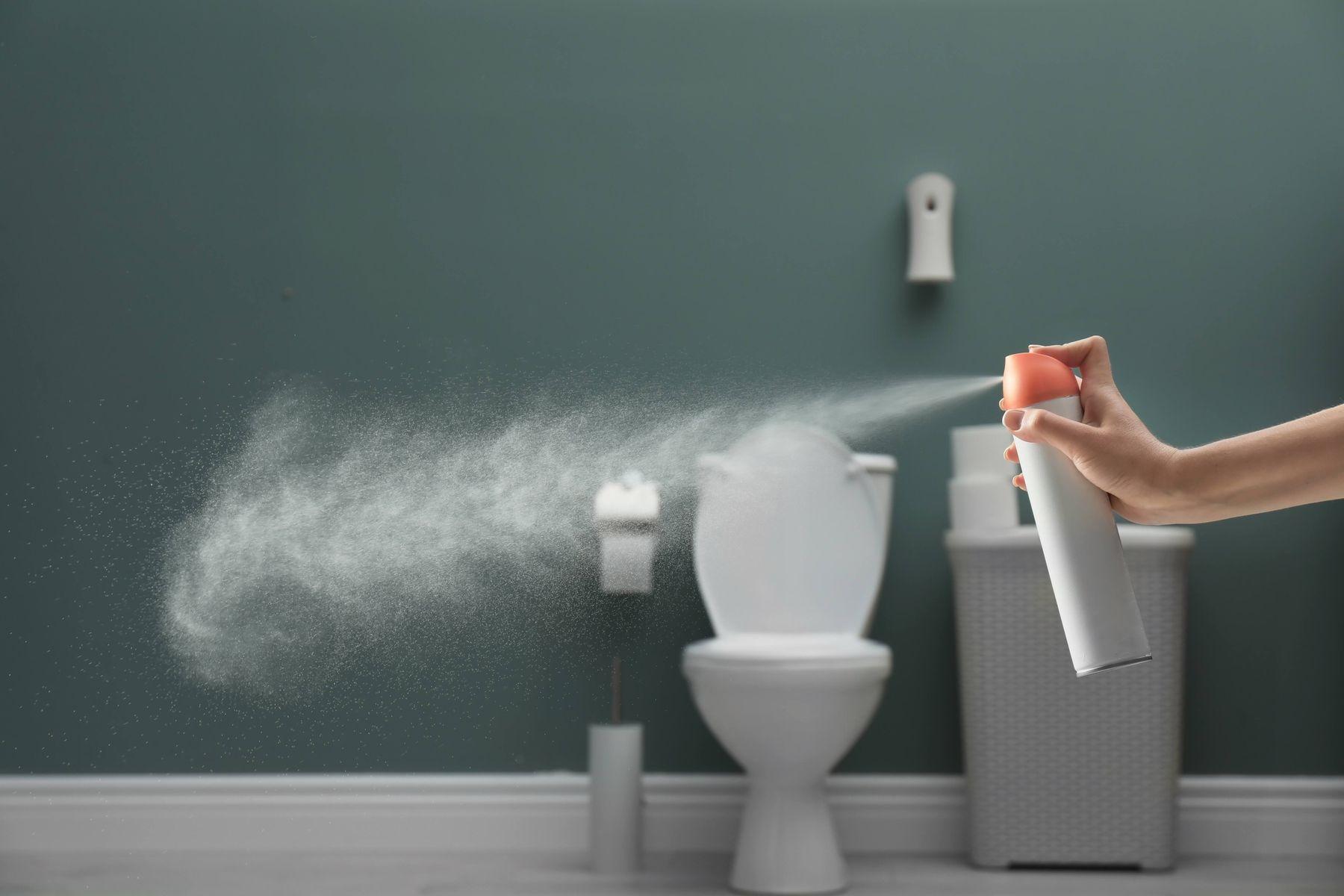 Lọ, Chai xịt khử mùi nhà vệ sinh