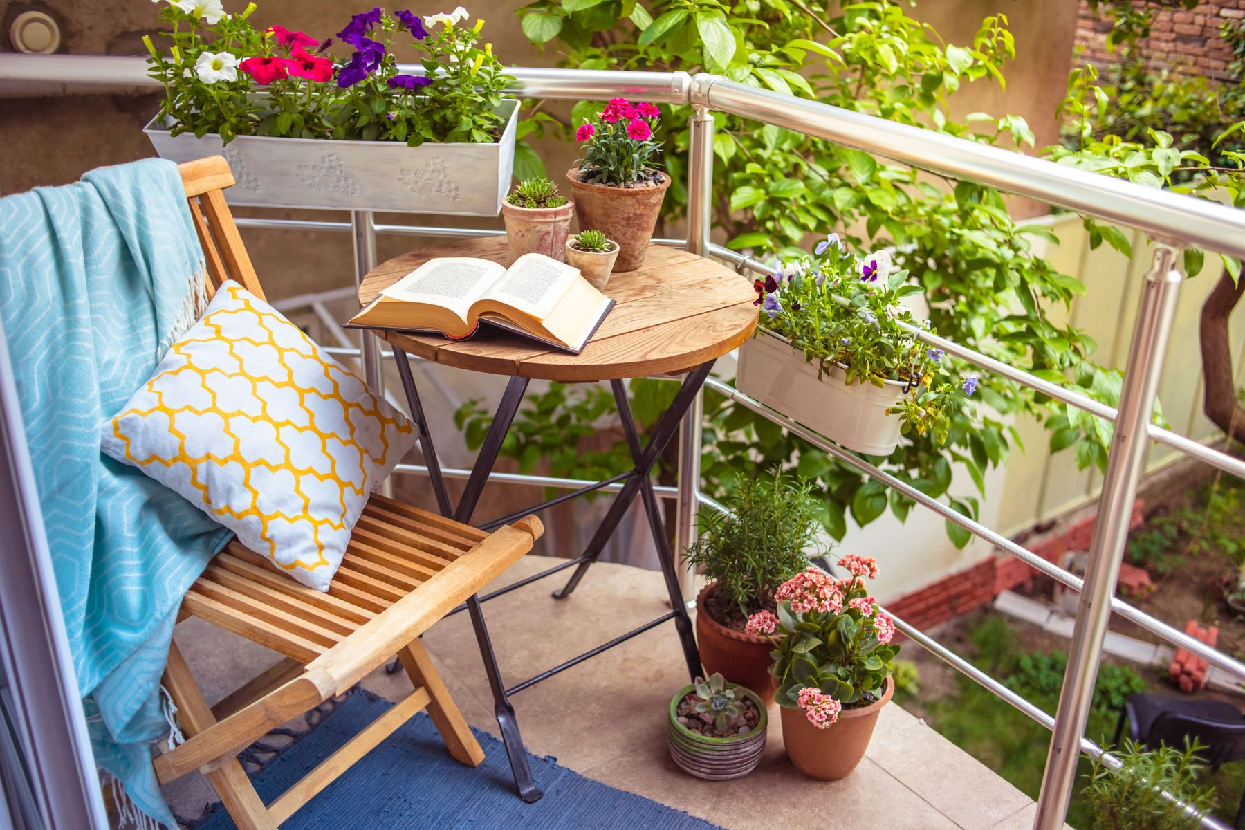 Small balcony ideas: how to make the most of the space you have